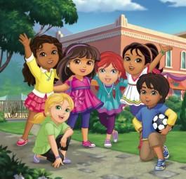 Scopri i personaggi di Dora and Friends