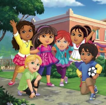Scopri i personaggi di Dora and Friends - Cartoni animati