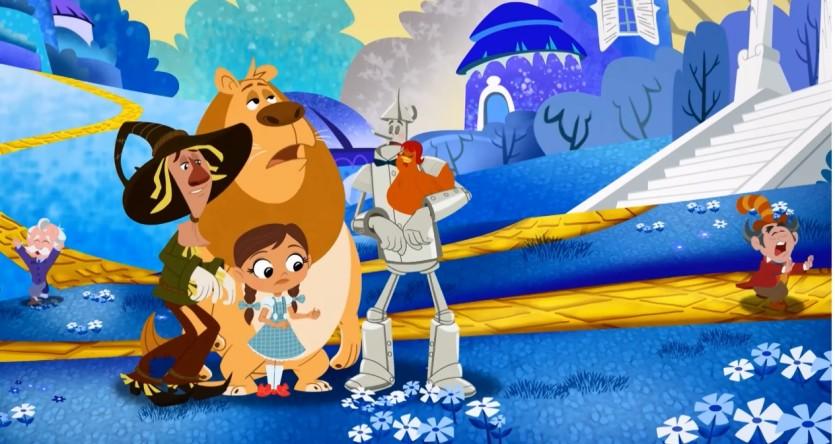 Dorothy e le Meraviglie di Oz - Cartoni animati