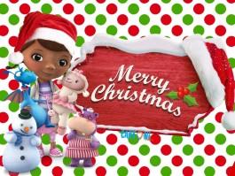 Doc McStuffins Merry Christmas