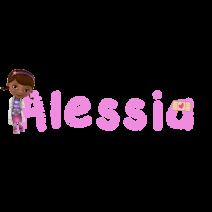 Alessia Dottoressa peluche - Nomi