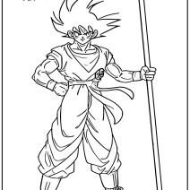 Immagini Dragon Ball Super Broly da colorare - Disegni da colorare