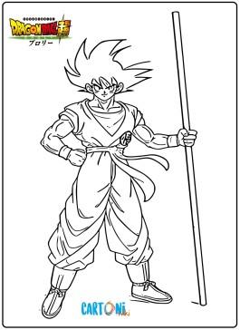 Immagini Dragon Ball Super Broly da colorare