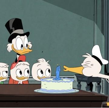 DuckTales - Corto - Il compleanno di Paperino - Cartoni animati