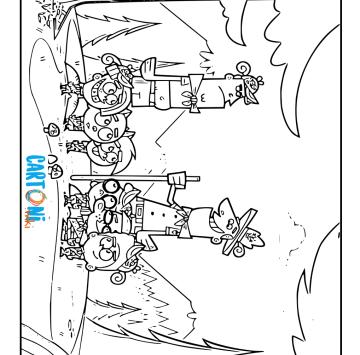 Colora Timmy di Due  Fantagenitori - Cartoni animati