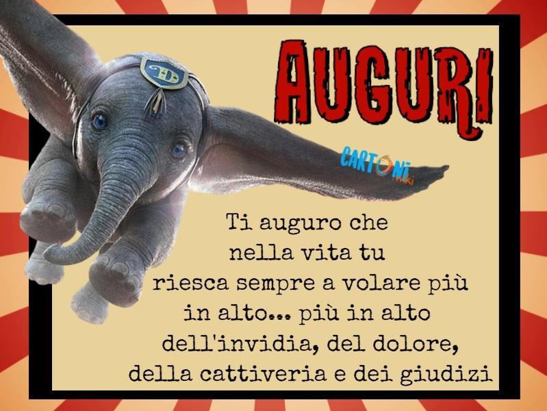 Biglietto di auguri Dumbo  - Cartoni animati