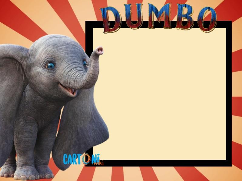Dumbo template - Cartoni animati