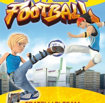 Fratelli di team. Extreme Football - Cartoni animati