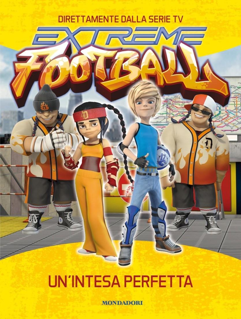 Un'intesa perfetta. Extreme Football - Cartoni animati