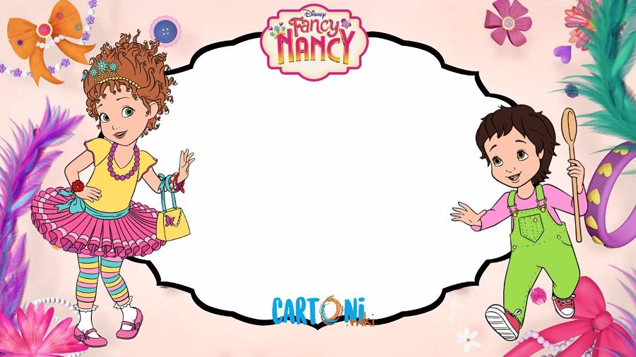 Fancy Nancy Birthday Party Invitations Cartoni Animati