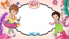 Fancy Nancy birthday party invitations