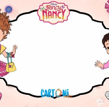 Fancy Nancy birthday party invitations - Cartoni animati