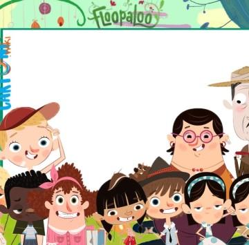 Floopaloo invito festa compleanno - Cartoni animati