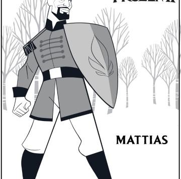 Tenente Mattias Frozen 2 - Cartoni animati