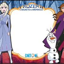 Inviti festa compleanno bambini Frozen 2 - Inviti feste compleanno