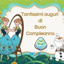 Frozen Tantissimi auguri - Buon compleanno