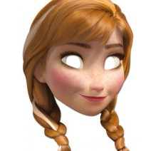 Frozen Stampa la maschera di Anna - Maschere