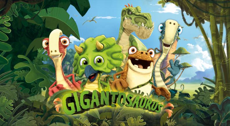 Gigantosaurus - Cartoni animati