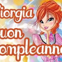 Giorgia buon compleanno - Giorgia