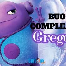 Gregorio buon compleanno - Gregorio