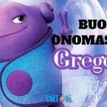 Gregorio buon onomastico - Gregorio