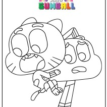 Gumball disegni da stampare - Stampa e colora