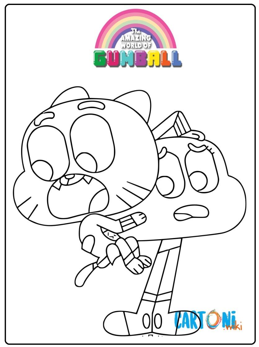 Gumball Disegni Da Stampare Cartoni Animati
