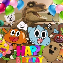 Gumball Happy birthday - Happy birthday