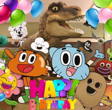 Gumball Happy birthday - Cartoni animati