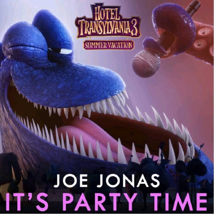 HOTEL TRANSYLVANIA 3 - Joe Jonas - It's Party Time - Cartoni animati