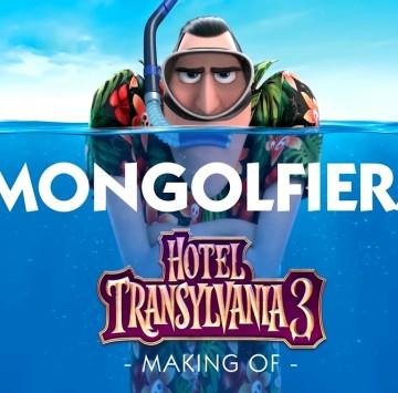 La mongolfiera di Hotel Transylvania - Cartoni animati