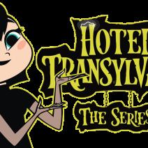 Mavis con logo di Hotel Transylvania - Immagini png