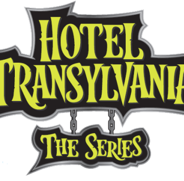 Hotel Transylvania the series logo png - Cartoni animati