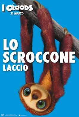I Croods Posters con i personaggi