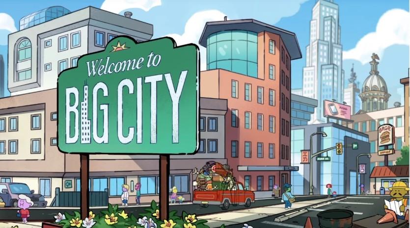 I greens in città sigla iniziale - Cartoni animati