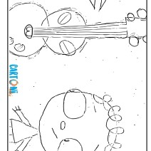 The day Henry met coloring page - Disegni da colorare
