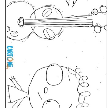 The day Henry met coloring page - Cartoni animati