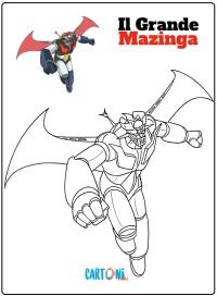 Il grande Mazinga disegni da colorare - Disegni da colorare