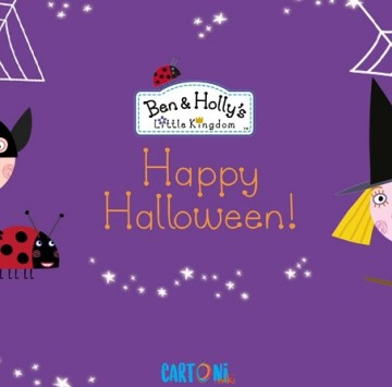 Happy Halloween - Ben and Holly - Cartoni animati