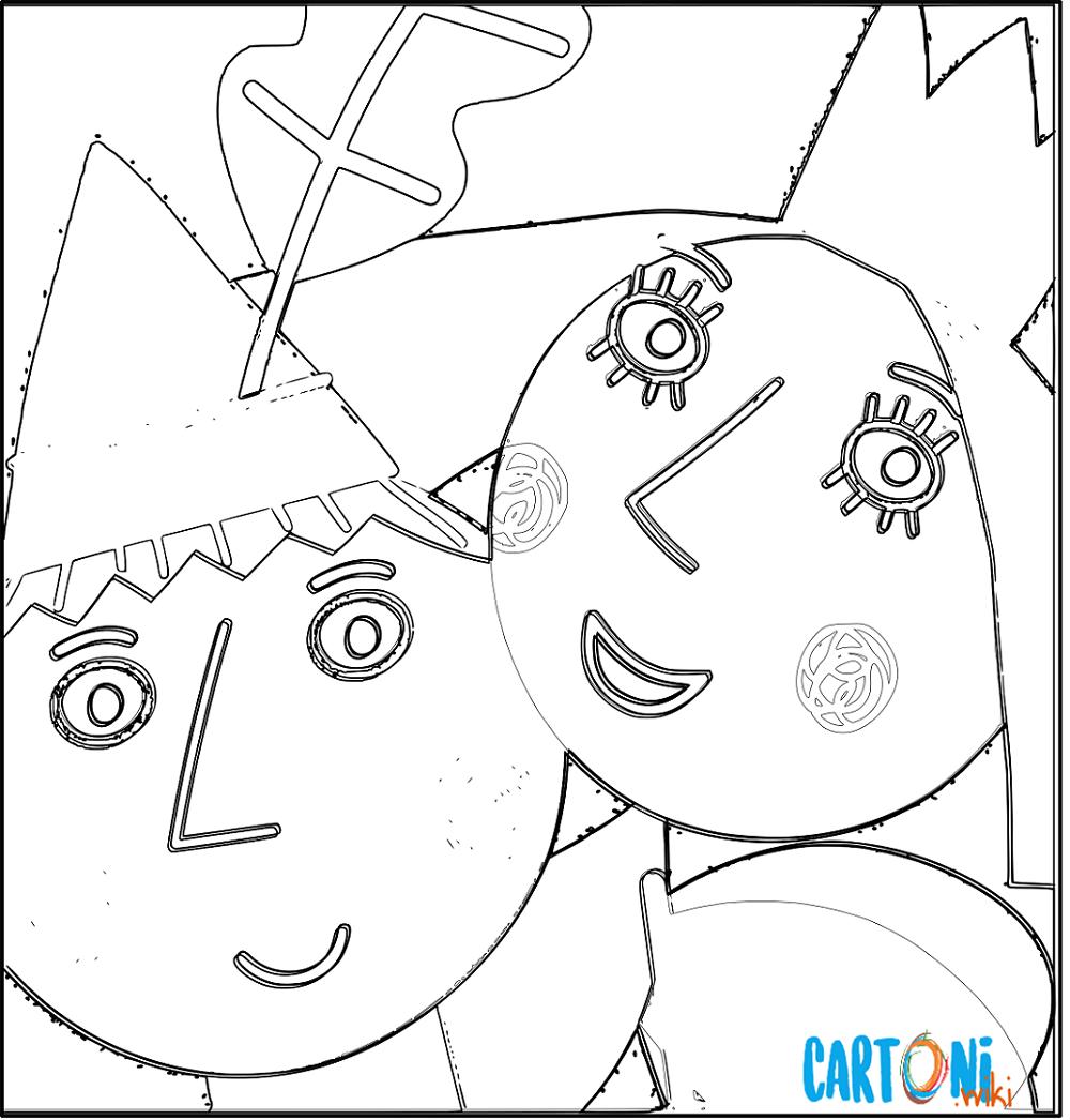Il Piccolo Regno Di Ben E Holly Disegni Cartoni Animati