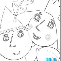 Il piccolo Regno di Ben e Holly disegni - Disegni da colorare