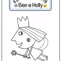 Il piccolo regno di Ben e Holly da colorare - Disegni da colorare
