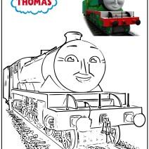 Disegni da colorare Il trenino Thomas - Disegni da colorare