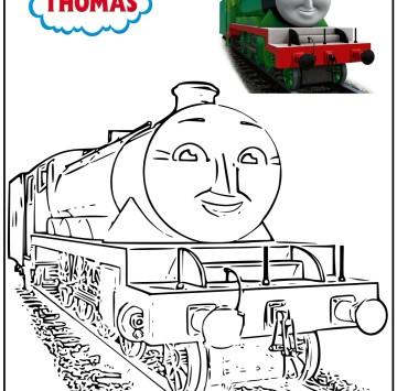 Disegni da colorare Il trenino Thomas - Cartoni animati