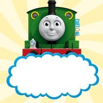 Invito compleanno bambini trenino Thomas - Inviti compleanno bambini