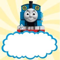 Inviti compleanno il trenino Thomas - inviti compleanno online