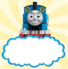 Inviti compleanno il trenino Thomas