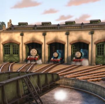 Il trenino Thomas Sigla - Cartoni animati