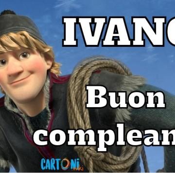Ivano buon compleanno - Cartoni animati