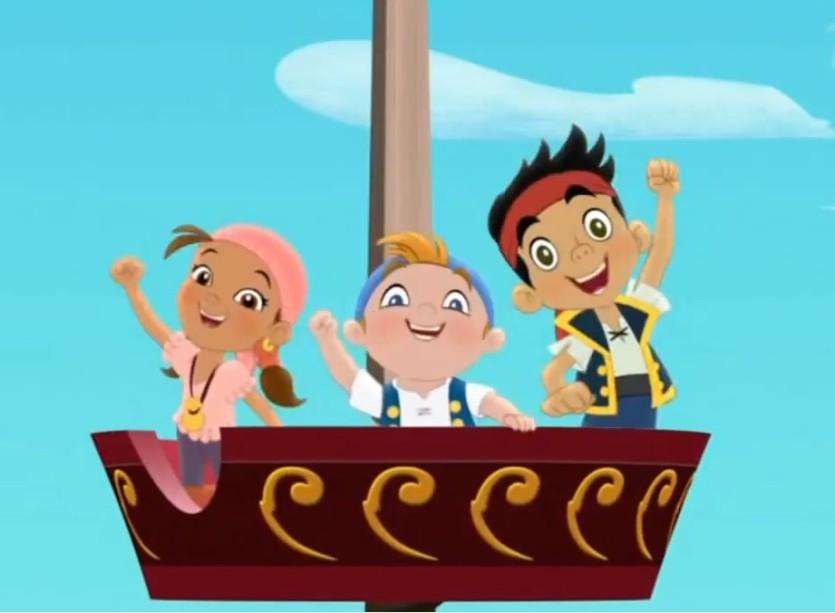 Jake e i pirati dell'isola che non c'è - Cartoni animati